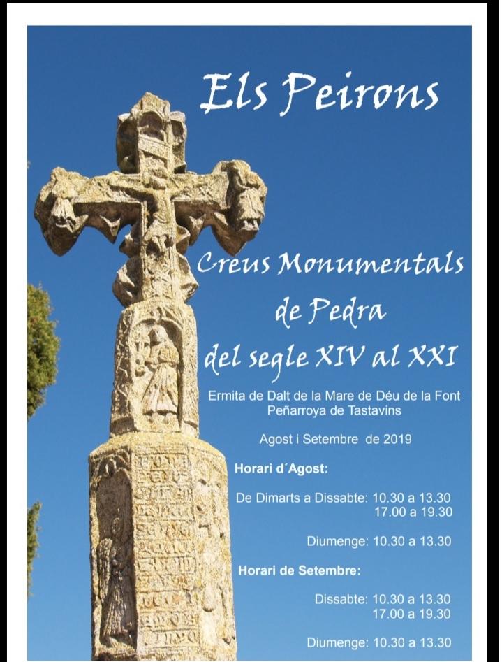 Exposición de Hitos y Cruces de Término en el Santuario Virgen de la Fuente