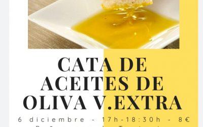 Cata de aceites de oliva en Flora